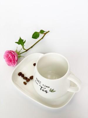 EASY LIFE Чашка с блюдцем