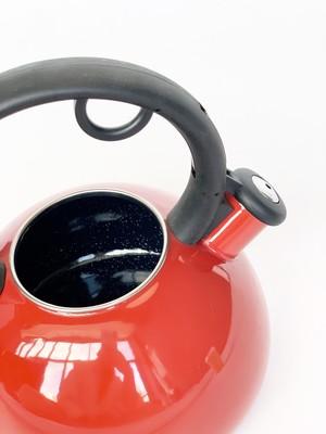 GRANCHIO Чайник эмалированный Capriccio Rosso, объем 2,5 л.