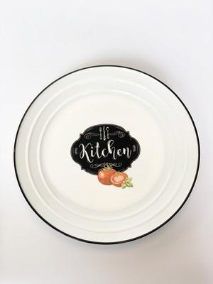 EASY LIFE Тарелка «Кухня в стиле ретро»